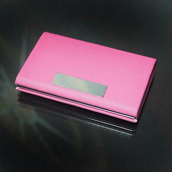 皮革雷射雕刻-名片盒